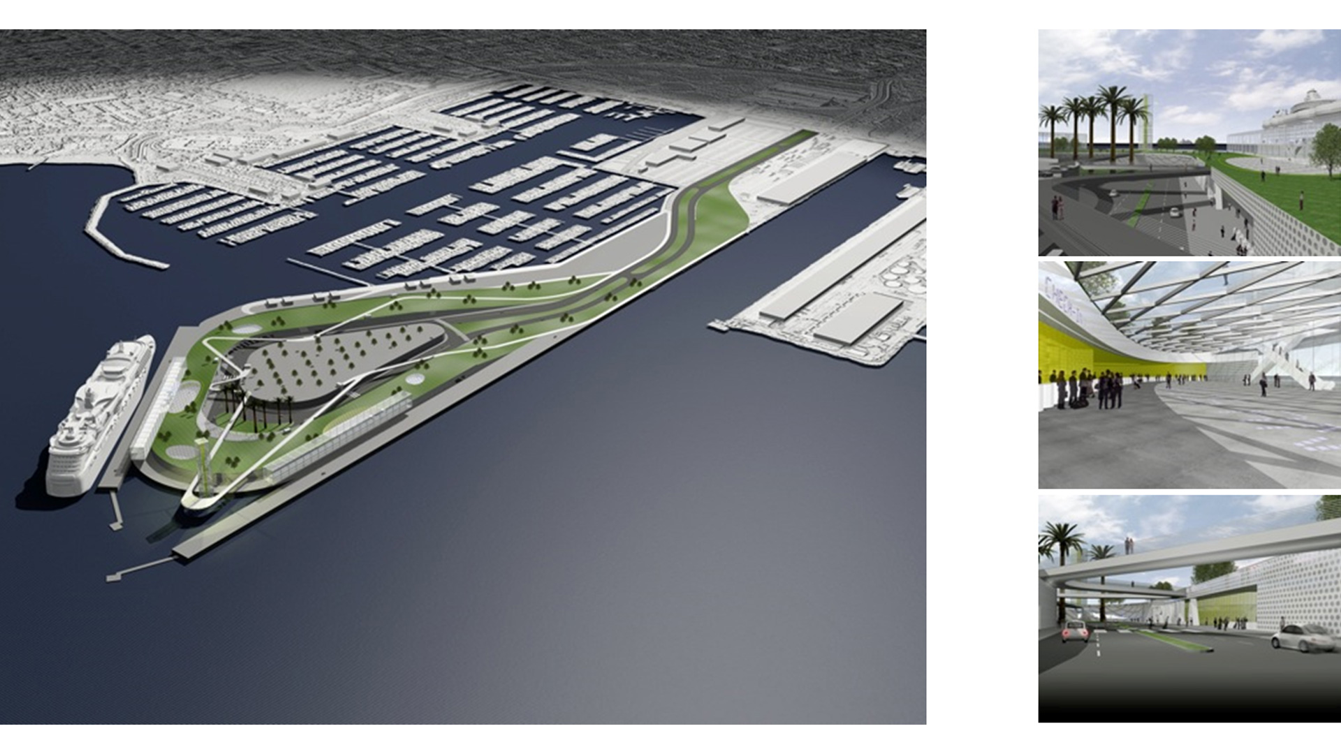 Port of Los Angeles Outer Harbor Cruise Terminal Concept - image